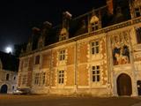 夜のブロワ城2