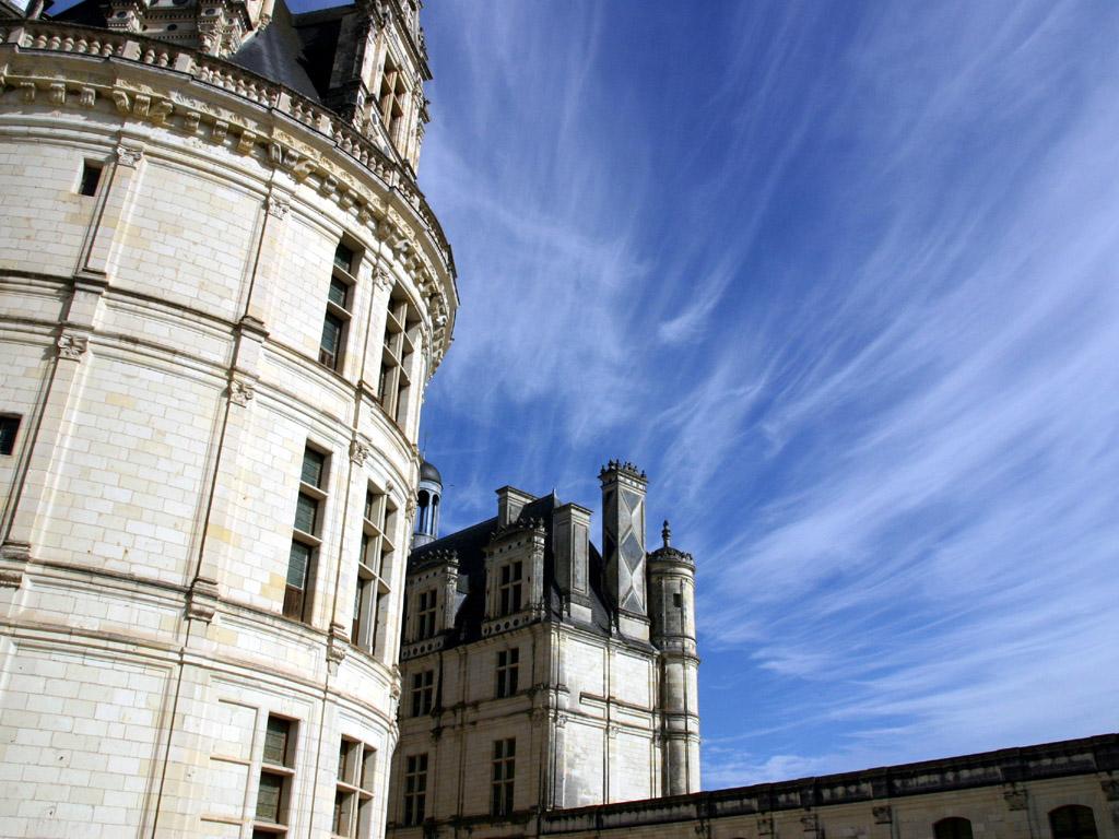 青空と城1