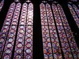 壁一面のステンドグラス